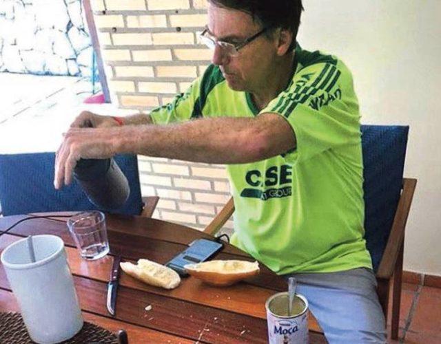 Bolsonaro leite condensado
