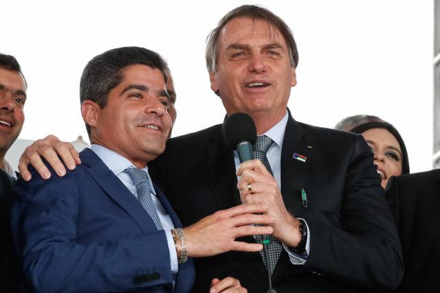 ACM Neto e Bolsonaro DEM