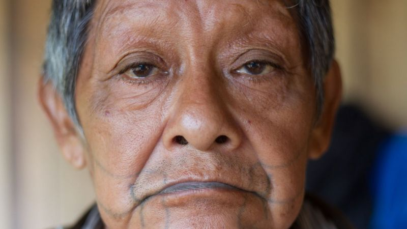 Aruká, último indígena Juma, morreu na última quarta-feira (17) em decorrência da covid-19 — Foto: Gabriel Uchida/Kanindé