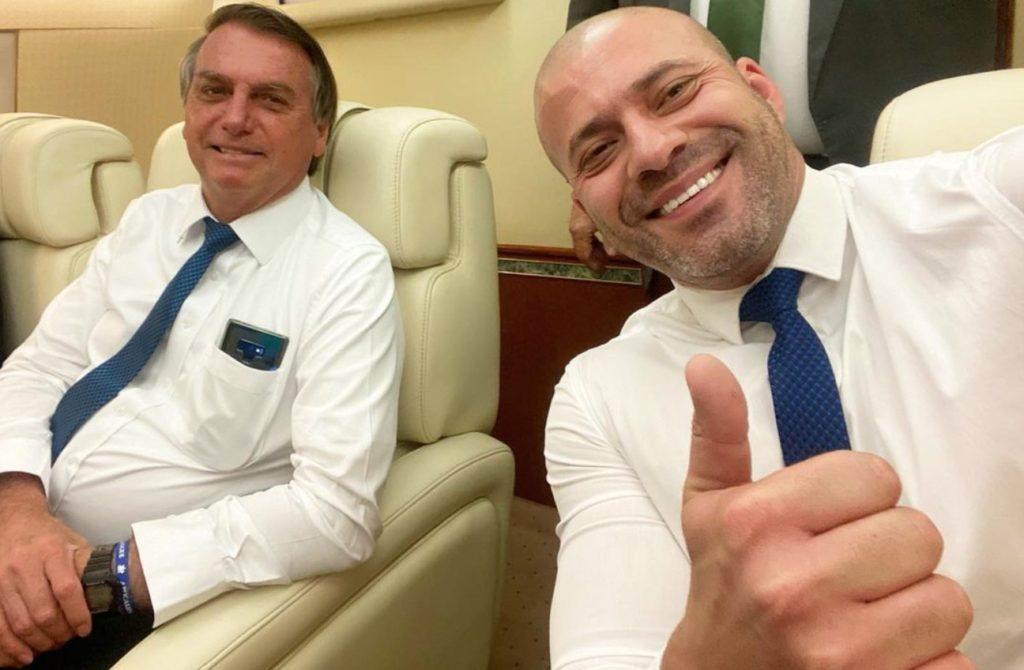 Silveira e Bolsonaro