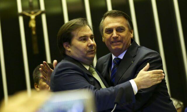 Maia e Bolsonaro