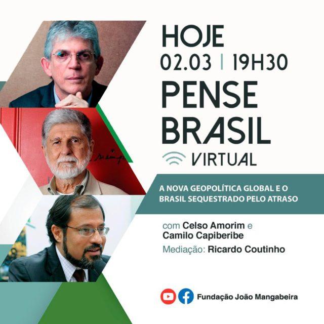 Pense Brasil geopolítica