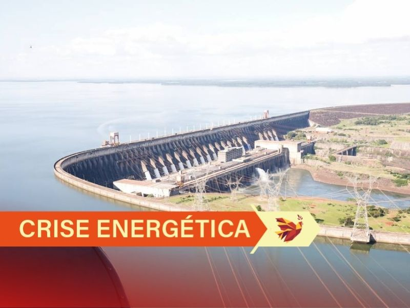Em meio à crise hídrica, o Rio Paraná, o segundo maior rio da América do Sul, operou em junho com média 55% abaixo do esperado para o mês