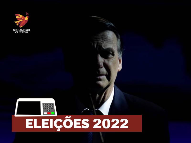 Aprovação a Bolsonaro derrete e ele questiona Eleições 2022 -