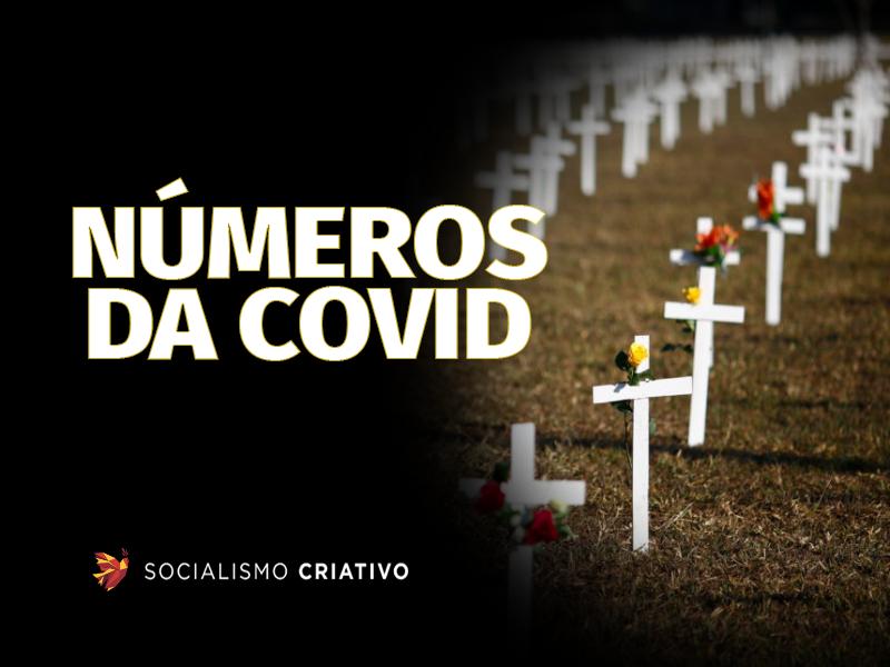 O Brasil registrou 1.286 mortes por Covid-19 nas últimas 24 horas, totalizando nesta sexta-feira (23), 548.420 óbitos na pandemia.